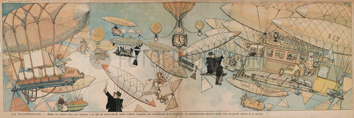'Congestion' in the skies  France  1901-1914.