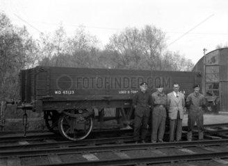 Army railway wagon  1961.