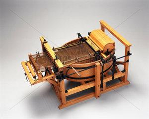 Robert's paper-making machine  1798.
