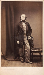 Gustav Robert Kirchhoff  German physicist  c 1860s.
