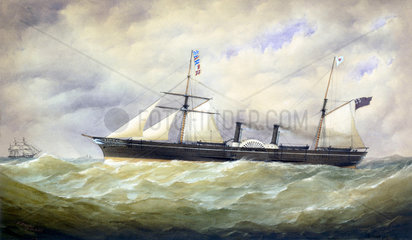 PS 'Pacific'  1854.
