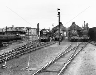 Holyhead Motive Power Depot  1935.