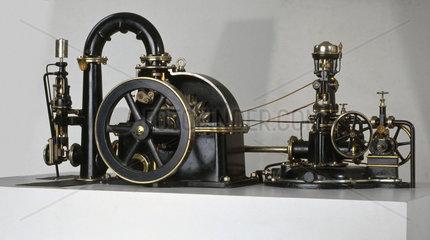 Pelton wheel  c 1900.