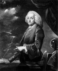 Benjamin Franklin  American theorist on static electricity  c 1740s.