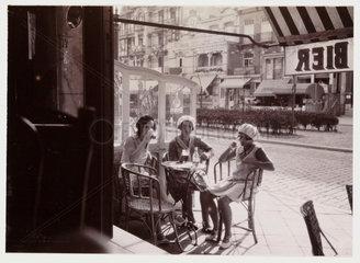 Women in a cafe  c 1930.