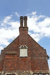 Moot Hall museum; Aldeburgh  Suffolk  England