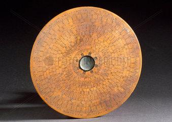 Mariner's compass  Chinese  1830-1920.