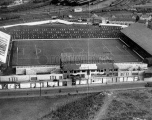 Ninian Park  Cardiff  1947.