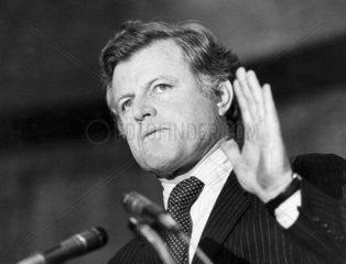 Edward Kennedy  American politician  March 1980.