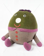 'Humpty'  toy from BBC TV's 'Play School'  c 1970s.