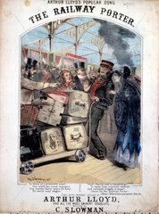 'The Railway Porter'  1870.
