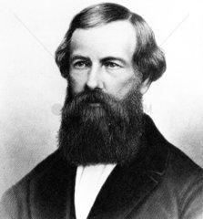 Elisha Graves Otis  American inventor  c 1850.