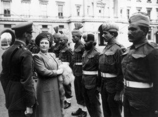 Queen Elizabeth  26 September 1943.