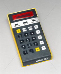Elka 101  electronic pocket calculator  1976.