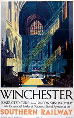 'Winchester'  SR poster  1935.