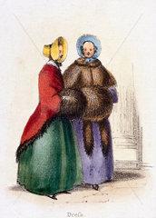 'Dress'  c 1845.