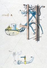 Newcomen atmospheric engine  c 1730.