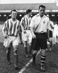 Nat Lofthouse  British footballer  1958.