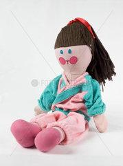 'Jemima'  doll from BBC TV's 'Play School'  c 1970s.