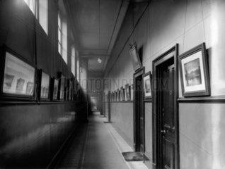 First floor corridor of the office block