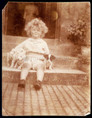 Arthur C Clarke aged c 3 years  c 1920.