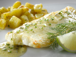 Riedlingen  Deutschland  Fisch Topping