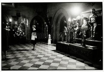 'Society Wedding  Warwick Castle'  1967.