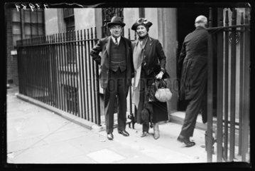Stanley Baldwin & his wife Lucy Baldwin  25 September 1932.