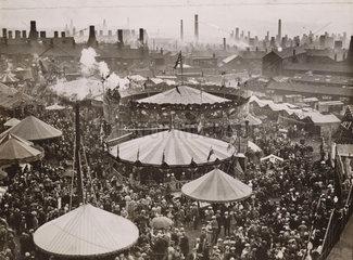 Fairground  9 August 1934.