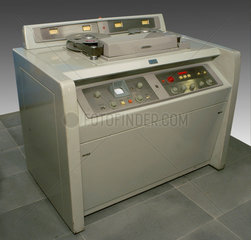 Ampex videotape recorder  type VR1000A  serial number 329  c 1950s.