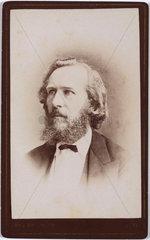 Ernst Haeckel  German naturalist  c 1860s.