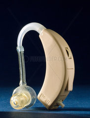 Battery driven hearing aid  1950-1970.