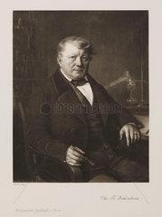 Christian Friedrich Schonbein  German chemist  c 1860.