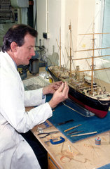 Work being carried out in the Conservation Workshops  1990s.
