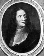 Vincenzio Viviani  Italian mathematician  mid 17th century.