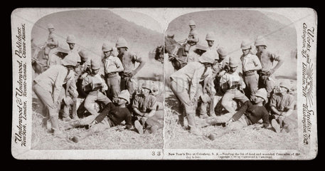 'New Year's Day at Colesberg  South Africa'  1900.