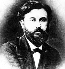 Emile Reynaud  French inventor  c 1870-1879.