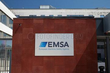 Lissabon  Portugal  das Logo der EMSA