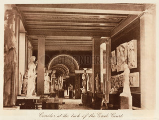 Greek Court  the Crystal Palace  Sydenham  London  1911.