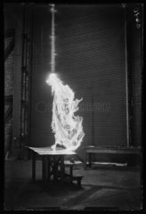 Electrical experiment  1933.