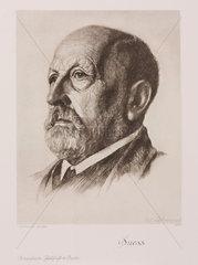 Eduard Suess  Austrian geologist  c 1900.