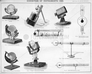 Sunshine recorders  1885.