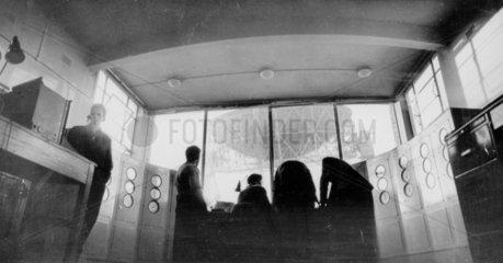 Jodrell Bank control room  15 December 1959
