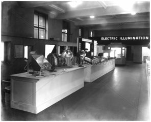 Electric Illumination exhibition view  1936.