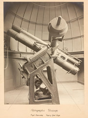 Astrographic telescope  Cape Town Observatory  1909.