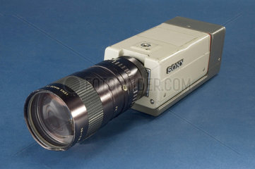 Detail of a Sony DXC101 CCD camera  1988.