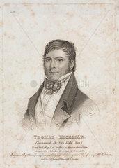 Thomas Hickman  c 1825.