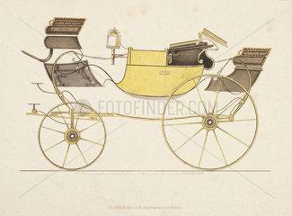 Landaulette carriage  1816.