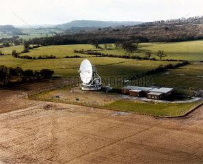 British satellite receiving station  Oakhanger  1980.
