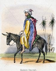 'Eastern Dervish'  c 1845.